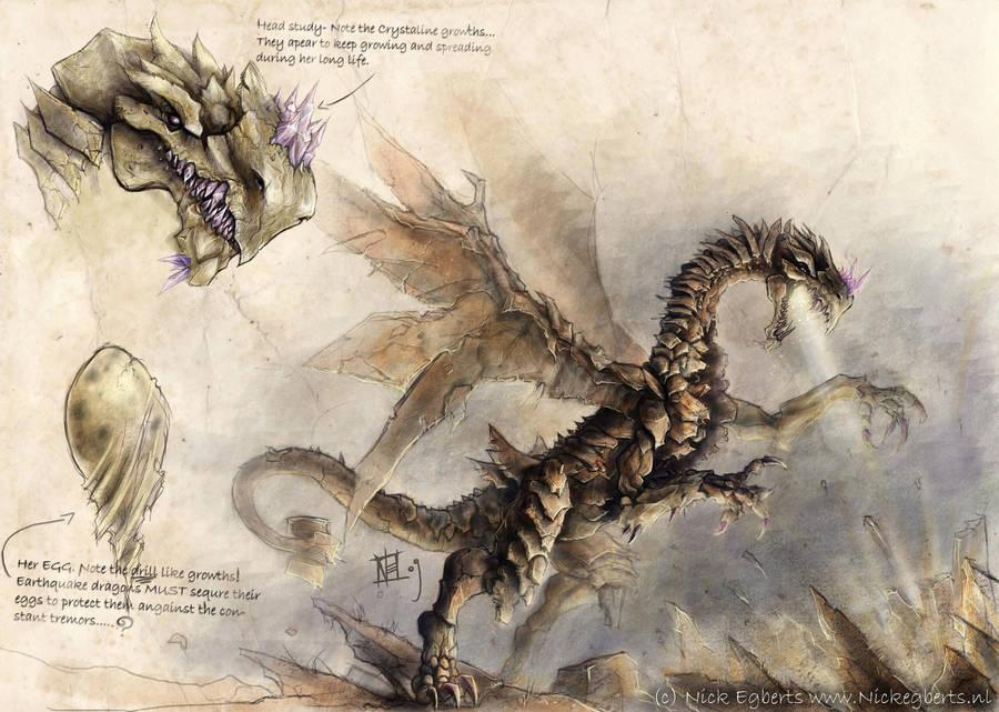 Earthquake dragon by mr-nick