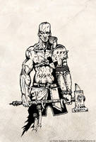 Warrior Priest by mr-nick