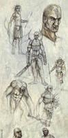 Cavemen GRRR by mr-nick