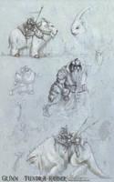 Grimm Tundra raider SketchBook by mr-nick