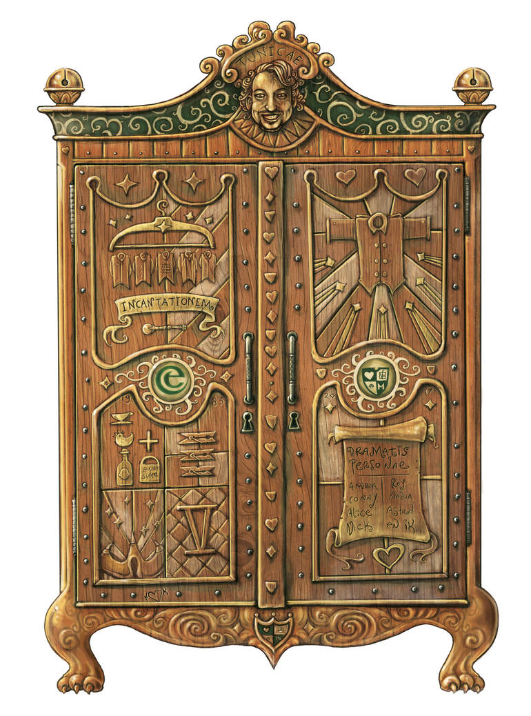Magical Armoire by mr-nick
