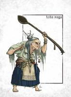 Baba Yaga by mr-nick