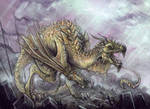 Earthbound Wyvern by mr-nick
