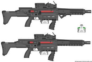 Mk 2323 Gauss Rifle by CHURCH17rz