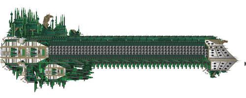 Imperium Secundus Bucephalus Class by LordArcheronVolistad