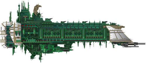 Victory Class Battleship by LordArcheronVolistad