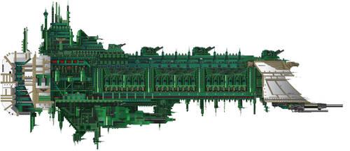 Victory Class Battleship (Wiki Variant) by LordArcheronVolistad