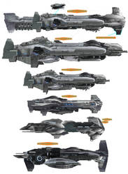 AHE Ship Ideas by LordArcheronVolistad