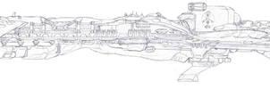 Annihilator Class Battlecarrier by LordArcheronVolistad