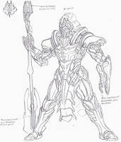 Vanrezhan Infantry Armor by LordArcheronVolistad
