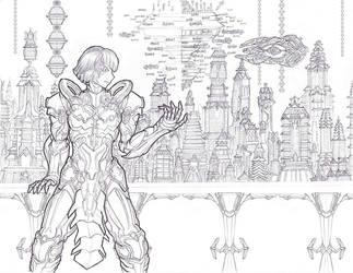 Seventh Dominion Cityview 1 by LordArcheronVolistad