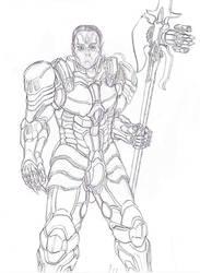 Ancient Human Lord Commander by LordArcheronVolistad
