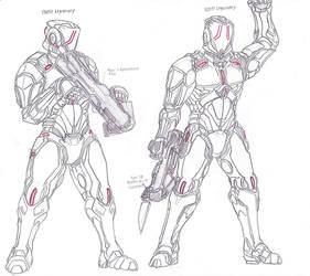 Ancient Human Forces 60 by LordArcheronVolistad