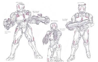 Ancient Human Forces 62 by LordArcheronVolistad