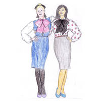 Office ladies by veronarmon