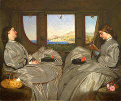 Augustus Leopold Egg - The Travelling Companions by veronarmon