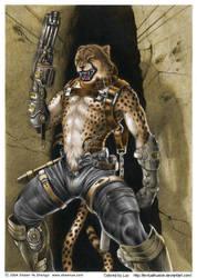 Cheetah Soldier by Shawn Ye by TextualHuskie