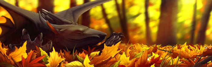 Leaves! by TheBlack-Arrow