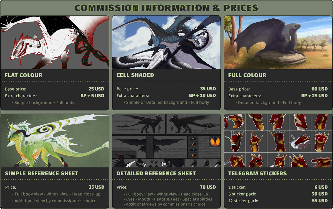 Commission Information and Prices [CLOSED] by TheBlack-Arrow
