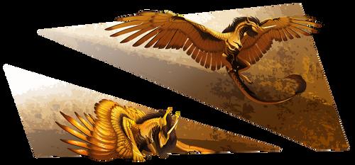 Clad in Gold by TheBlack-Arrow