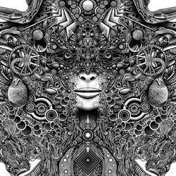 Giger detail 2 by SearingLimb
