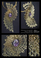 Pendant IV. - bobbin lace by Junior-rk