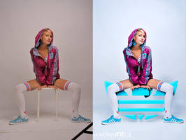 Gabca retouch - Adidas fashion by Junior-rk