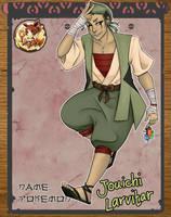 Poki: NPC : Jouichi by PrinceSado