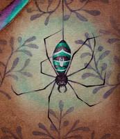Forgiven (Arachne detail) by l-Zoopy-l