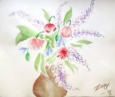 Flowers sketch by l-Zoopy-l