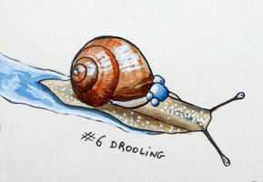Inktober 2018: 06 - Drooling by l-Zoopy-l