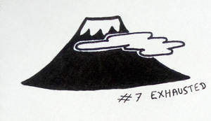 Inktober 2018: 07 - Exhausted by l-Zoopy-l