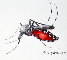 Inktober 2018: 17 - Swollen by l-Zoopy-l