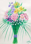 Wedding bouquet by l-Zoopy-l