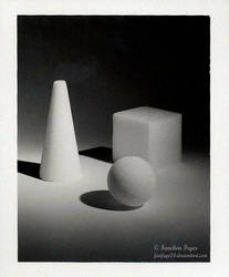 Ball, Cube, Cone by FanFrye24