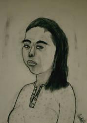 Self Portrait by FanFrye24