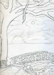landscape sketch by FanFrye24