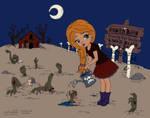 Zombie Farm in Color by FanFrye24