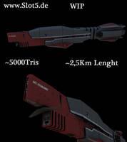 Huge Battleship by Artificialproduction