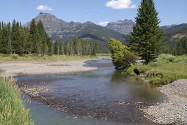 River Stock - Wyoming Trip by Azaroe