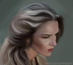 Girl by frizzycherry