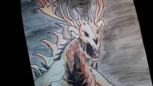 Monster (Wendigo) by anythingLDA