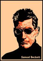 Samuel Beckett by neopren