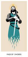 Page Of Swords by neopren