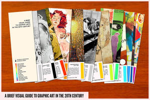 visual guide to graphic arts in the 20th century by neopren