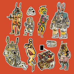 Stickers by neopren