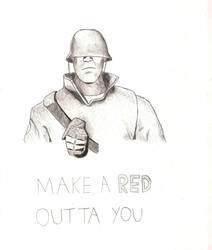 Make a RED Outta You by PivotShadow