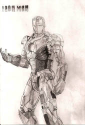 Iron Man by PivotShadow