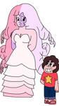Opal Rose Aura Quartz with Steven  by SfCabanas15