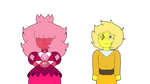 Pink Sapphire and Yellow Diamond is HW by SfCabanas15
